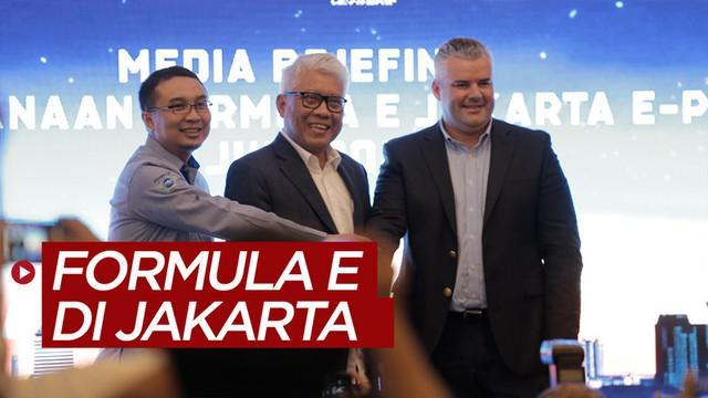 Berita video membahas mengenai digelarnya Formula E pada 6 Juni 2020 di Monas.