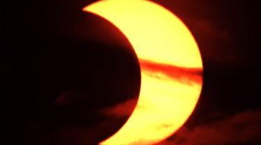 Gerhana matahari cincin 10 Juni 2021.