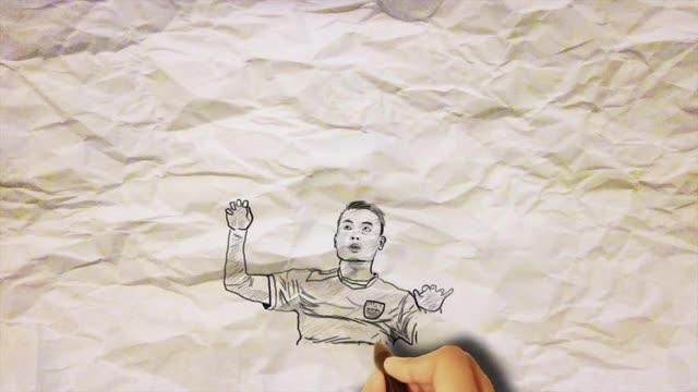 Sketsagram mengenai komentar dan keprihatinan mereka terhadap kisruh sepak bola nasional yang melibatkan PSSI dengan Menspora Imam Nahrawi hingga kini.