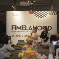Inilah sederetpotret keseruan Fimelahood #MyCareer Matters. Ada kamu di dalamnya? (Fotografer: Nurwahyunan/FIMELA.com)