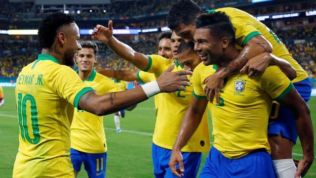Timnas Brasil Vs Timnas Kolombia