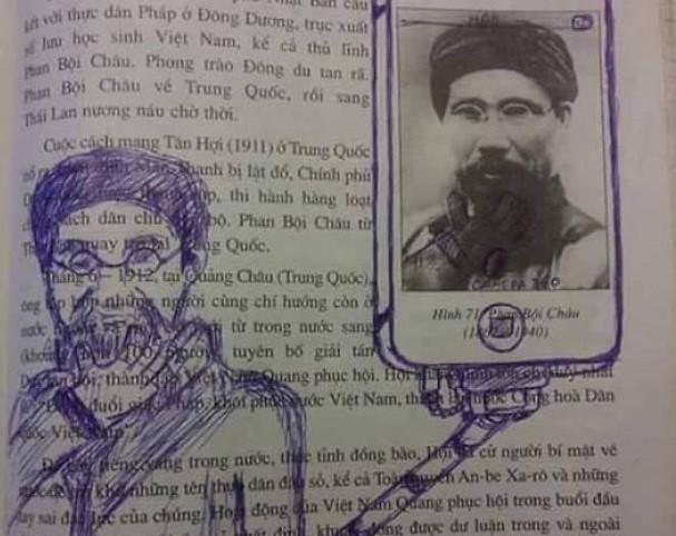 Corat-coret buku sejarah Vietnam. Source: demilked.com