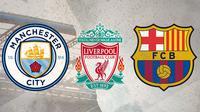 Tim pencetak gol terbanyak: Manchester City, Bayern Muenchen, Atalanta, Barcelona, Liverpool. (Bola.com/Dody Iryawan)