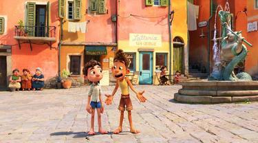 Film animasi Luca. (Disney Pixar via Instagram/ pixarluca)