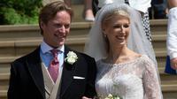Pernikahan Lady Gabriella dan Thomas Kingston. Dok: Hello Magazine