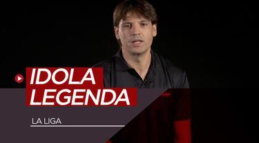 Berita video para legenda La Liga seperti Fernando Morientes dan Diego Forlan mengungkapkan idola mereka saat masih kanak-kanak. Siapa saja?