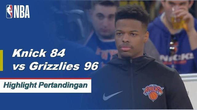 Mike Conley memanas 25 poin, 8 rebound, dan 7 assist saat Grizzlies menangani Knicks, 96-84.