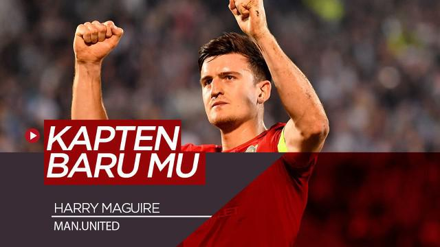 Berita Video Alasan Utama Solskjaer Tunjuk Harry Maguire Jadi Kapten Manchester United