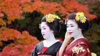 Geisha magang atau maiko di Kyoto, Jepang (AFP)