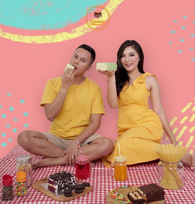 Bisnis kue kekinian yang digeluti oleh Arief dan Tipang mendapat respon positif!/Copyright Instagram/cakekinian.id