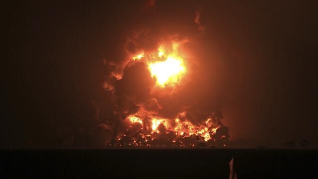 Kebakaran Hebat Kilang Pertamina Balongan