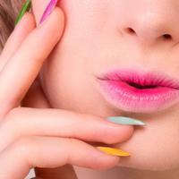 Lipstik ombre. (via: cantik.com)