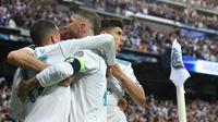 Real Madrid memastikan tempat pada final Liga Champions 2018. (doc. Real Madrid)