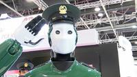 Dubai akan segera memanfaatkan robot polisi untuk bertugas mengawasi jalanan (sumber: dailymail)