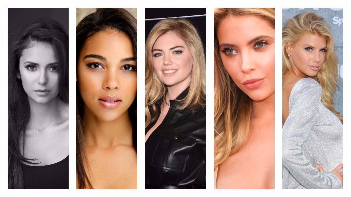 Nina Dobrev, Alexandra Shipp, Kate Upton, Ashley Benson, dan Charlotte McKinley (IMDb)