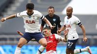 Tottenham Hotspur melawan Arsenal (AFP)