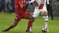 Kylian Mbappe jadi bintang saat PSG kalahkan Munchen di leg pertama perempat final Liga Champions (AFP)