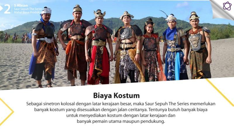 5 Alasan Saur Sepuh The Series Mahal Biaya Produksinya.  (Digital Imaging: Nurman Abdul Hakim/Bintang.com)