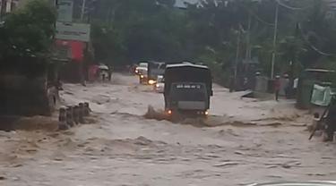 banjir di Kota Jayapura