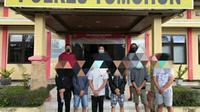 6 pelaku sudah diamankan di Polres Tomohon, untuk mempertanggungjawabkan perbuatannya.