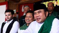 Ridho Rhoma, Muhaimin Iskandar dan Rhoma Irama (Liputan6.com)