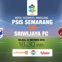 PSIS Semarang vs Sriwijaya FC