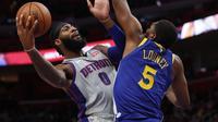Andre Drummond Jadi Bintang Kemenangan Pistons atas Warriors di lanjutan NBA (AP)