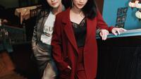 Siti Adira Kania dan Ririn Dwi Ariyanti (Sumber: Instagram/adirakania)