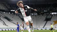 Federico Bernardeschi mencetak gol untuk Juventus (AP)