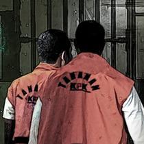 Banner Tahanan KPK (Liputan6.com/Triyasni)