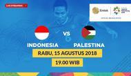 Jadwal sepak bola putra Asian Games 2018, Indonesia vs Palestina. (Bola.com/Dody Iryawan)