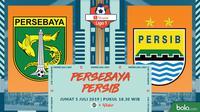 Shopee Liga 1 - Persebaya Surabaya Vs Persib Bandung (Bola.com/Adreanus Titus)