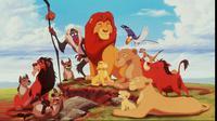 Sungguh menakjubkan, ternyata adegan dari film kartun The Lion King benar-benar ada di alam nyata, guys!