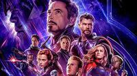 Poster Avengers: Endgame. (Marvel Studios)