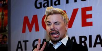Sam Brodie menyampaikan pengalamannya yang merupakan sebuah pelajaran berharga melalui film terbarunya yang berjudul 'Move On'. (Wimbarsana/Bintang.com)
