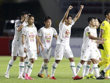 FOTO: Taklukkan PSM Makassar, PSS Sleman Rebut Juara Tiga Piala Menpora 2021