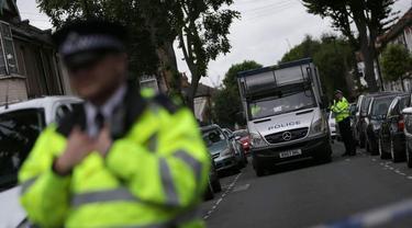 Ilustrasi Polisi Inggris (AFP)