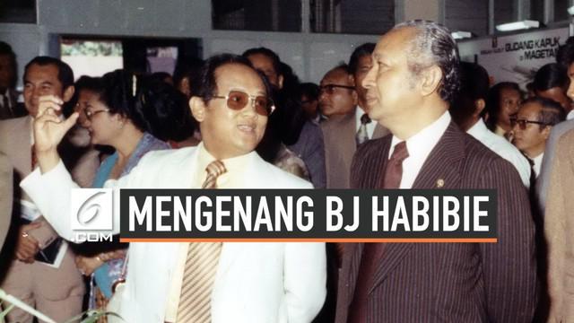 BJ Habibie sempat memiliki hubungan istimewa dengan presiden Soeharto. Ia pun dipercaya Soeharto sebagai menteri negara riset dan teknologi selama 2 dekade.
