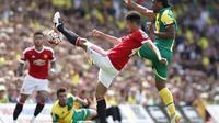 Norwich City Vs Manchester United (Reuters)