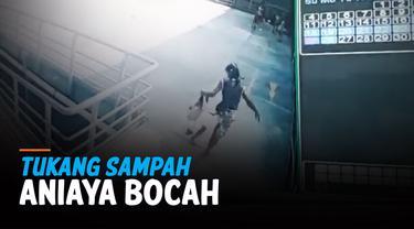 KESAL DIEJEK, TUKANG SAMPAH ANIAYA BOCAH 7 TAHUN