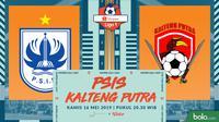Shopee Liga 1 - PSIS Semarang Vs Kalteng Putra (Bola.com/Adreanus Titus)
