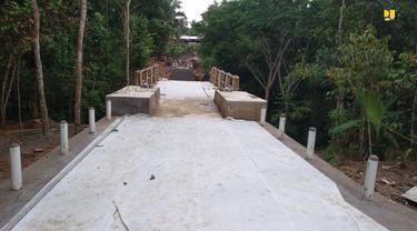 Jembatan Gantung Mekar Baru di Serang