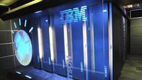 Tampilan superkomputer besutan IBM, Watson (sumber: nydailynews.com)