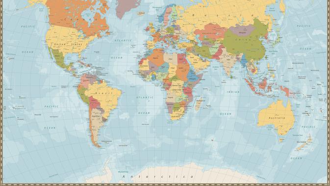 Jenis Jenis Peta Dan Contohnya Perlu Diketahui Agar Tidak Keliru Citizen6 Liputan6 Com