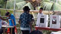 Pemilu 2019 susulan di Papua. (Liputan6.com/Katharina Janur)