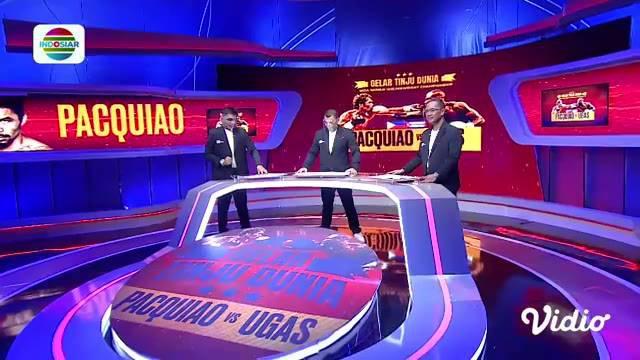 Berita video full match laga perebutan gelar WBA Super kelas welter antara Manny Pacquiao Vs Yordenis Ugas yang disiarkan oleh Indosiar, Minggu pagi (22/8/21)