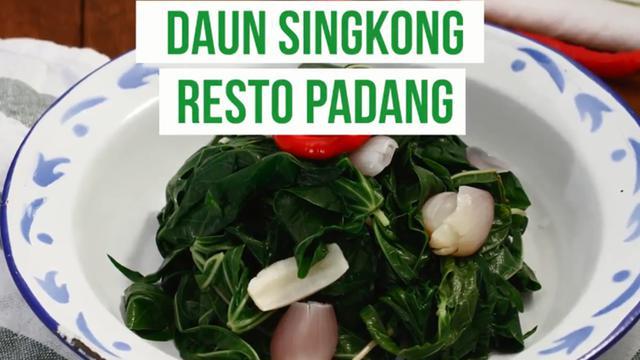Daun Singkong Minang