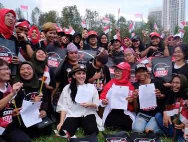 Ketika Pekerja Migran di Hongkong Deklarasikan Dukung Jokowi-Ma'aruf Amin