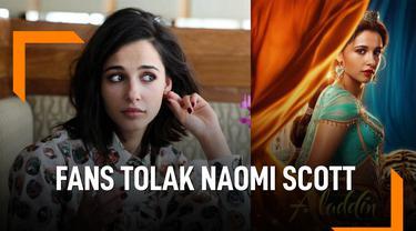 Alasan Fans Tolak Naomi Scott Perankan Putri Jasmine