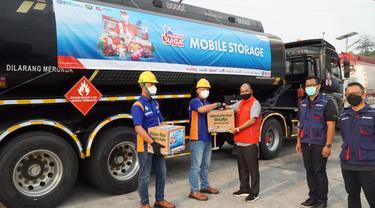 Pastikan Distribusi BBM & LPG Lancar, Direktur Logistik & Infrastruktur Pertamina Tinjau Langsung Satgas RAFI 2021